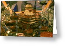 Brownie Under Glass Greeting Card