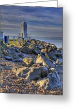 Browns Point Lighthouse Greeting Card