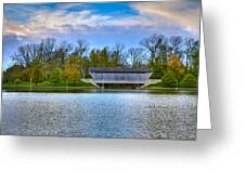 Brownsville Covered Bridge Greeting Card