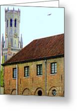 Bruges 18 Greeting Card