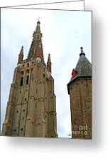 Bruges 20 Greeting Card