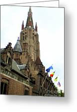 Bruges 21 Greeting Card