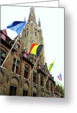 Bruges 22 Greeting Card