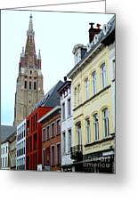 Bruges 3 Greeting Card