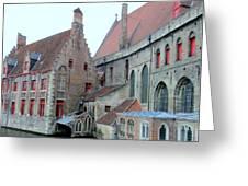 Bruges 4 Greeting Card
