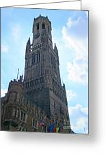Bruges Belfry 5 Greeting Card