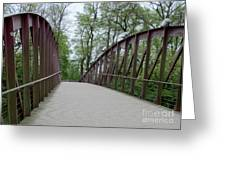 Bruges Bridge 1 Greeting Card