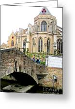 Bruges Bridge 3 Greeting Card