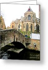 Bruges Bridge 4 Greeting Card