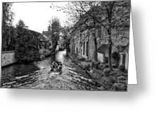 Bruges Bw4 Greeting Card