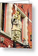 Bruges Detail 1 Greeting Card