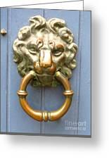 Bruges Detail 3 Greeting Card