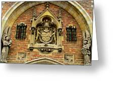 Bruges Detail 9 Greeting Card