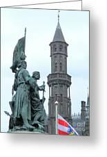Bruges Markt 5 Greeting Card