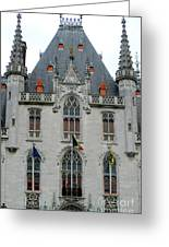 Bruges Markt 8 Greeting Card