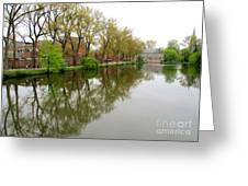 Bruges Minnewater 1 Greeting Card