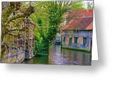 Bruges Greeting Card
