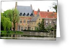 Bruges Sashuis 1 Greeting Card