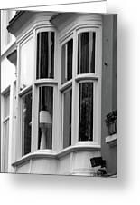 Bruges Window 14 Greeting Card
