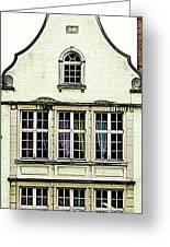 Bruges Window 8 Greeting Card