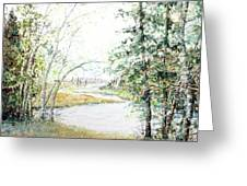 Brule River Greeting Card by Ken Marsden