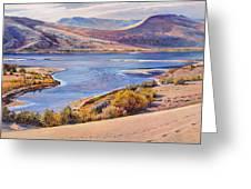 Bruneau Sand Dunes Greeting Card by Steve Spencer