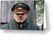 Bruno Ganz As Adolf Hitler Publicity Photo Number One Downfall 2004 Frame Added 2016 Greeting Card