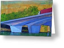 Brunswick River Bridge Greeting Card