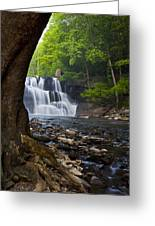 Brush Creek Falls II Greeting Card