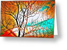 Brushfire Greeting Card