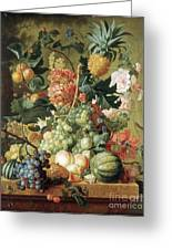 Brussel Fruits 1789 Greeting Card