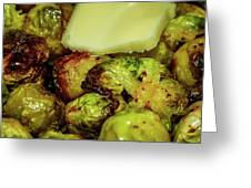Brussel Sprouts 2 Greeting Card