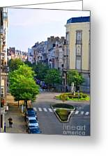 Brussels Row Greeting Card
