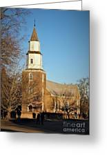 Bruton Parish Episcopal Church Greeting Card