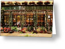 Bryant Park Grill Greeting Card