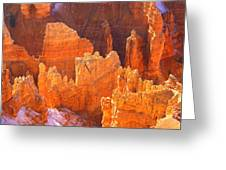 Bryce Ablaze Greeting Card