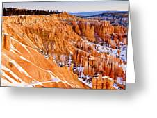 Bryce At Sunrise Greeting Card