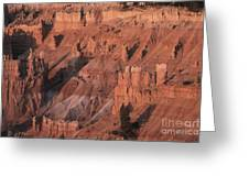 Bryce Canyon At The Golden Hour Greeting Card