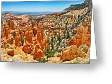 Bryce Canyon Fairyland Vista Greeting Card