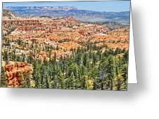 Bryce Canyon Fairyland Vista Point Greeting Card