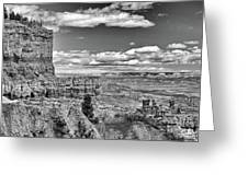 Bryce Canyon In Black And White Greeting Card