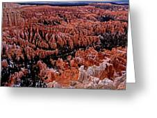 Bryce Canyon N. P. Greeting Card