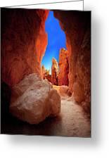 Bryce Canyon Narrows Greeting Card
