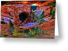 Bryce Canyon Natural Bridge Greeting Card