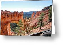 Bryce Canyon Natural Bridge - Utah Greeting Card