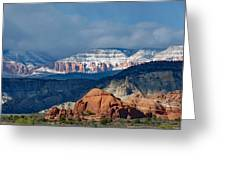 Bryce Canyon Snowstorm Greeting Card