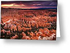 Bryce Canyon Sunset Greeting Card