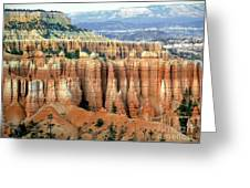 Bryce Canyon Vertical Hoodoos Greeting Card