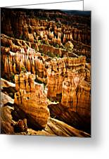 Bryce Canyon Vertical Image Greeting Card