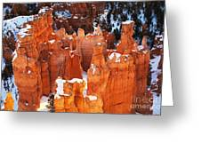 Bryce Canyon Winter 1 Greeting Card